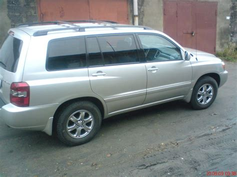 Toyota Highlander Air Conditioning Problems 2005 Toyota Highlander Pics Gasoline Ff Automatic For Sale