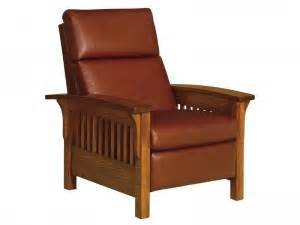 mission recliners brandenberry amish furniture