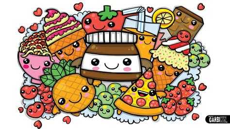 cute graffiti coloring pages colouring a cute nutella and kawaii food cute graffiti