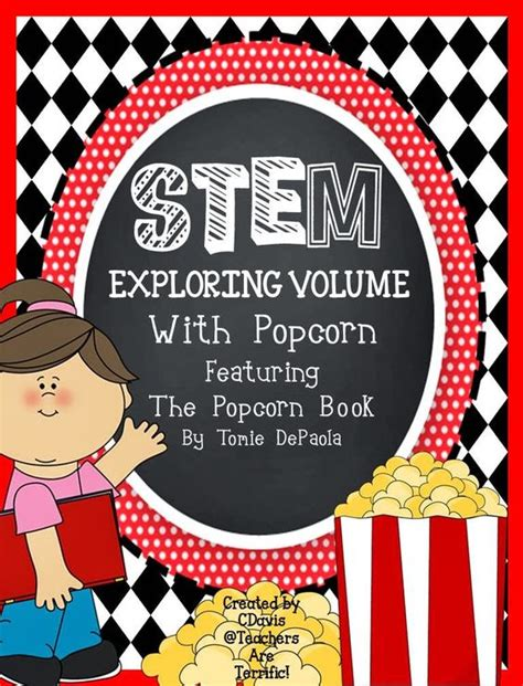 Its All About The Volume by Book Popcorn And Stems On