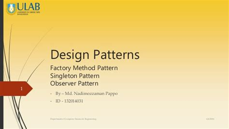 factory pattern software engineering design pattern software engineering