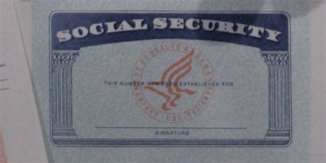 Should We Kill The Social Security Number Huffpost Blank Social Security Card Template 2