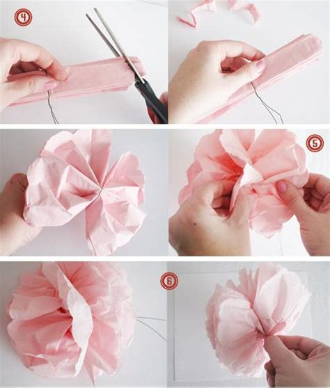 Flower Using Paper - diy tutorial diy crepe paper flowers diy paper flowers