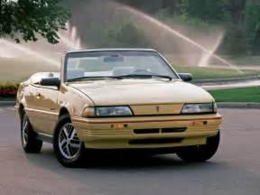 1992 Pontiac Sunbird 1992 Pontiac Sunbird Related Infomation Specifications
