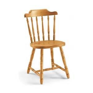 chaise en pin quot country quot ecopin meubles en pin