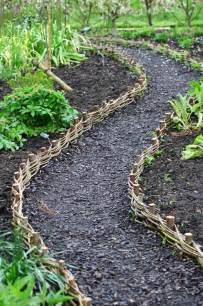 Landscape Edging Path Willow Weave Path At Rhs Harlow Carr Make Similar But
