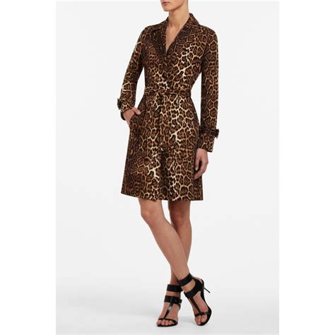 Found A Saucy Leopard Trench Coat by Leopard Print Bcbg Trench Coat Obsessed