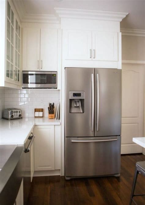 ikea built in fridge cabinet 25 best ideas about built in microwave on