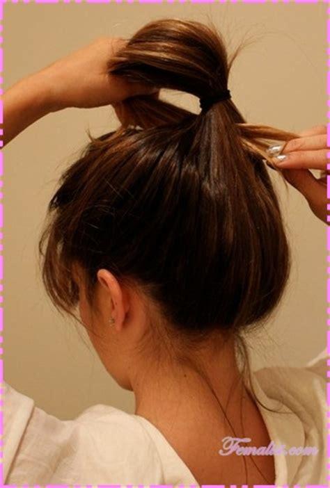 cara cara sanggul rambut cara sanggul modern dari rambut sendiri