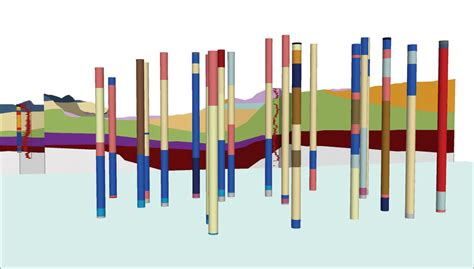 Xacto Section by Modeling The Terrain Below