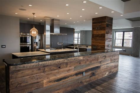 Kitchen Center Island by Downtown Condo Industrial Contemporary Contemporary