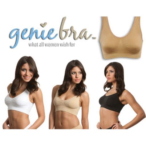 Best Genie Bra Promo genie bra set of 3 america s top selling seamless bras