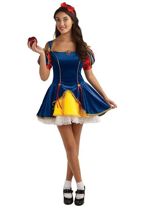 halloween costumes for teen girls snow white teen girls costume disney princess costume ideas