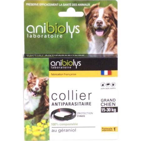 canapé pour chien grande taille collier antiparasitaire pour un grand chien 15 30kg anibiolys