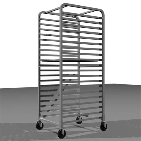 Sheet Tray Rack by Sheet Tray Rack Style 3d C4d