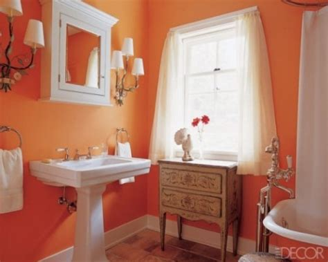 orange in bathtub orange bathroom decorating ideas interior design