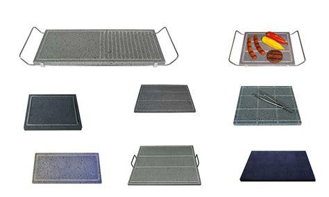 piano cottura pietra lavica pietra lavica per cucinare piastre per barbecue o fornelli