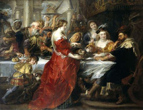 il banchetto di erode banchetto di erode 1635 1638 di rubens mondointasca