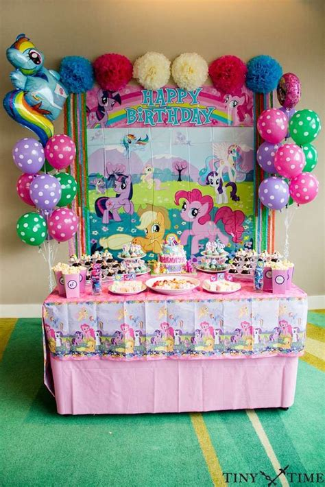 home party decoration ideas with exemplary perfect birthday party 216 best my little pony party ideas images on pinterest