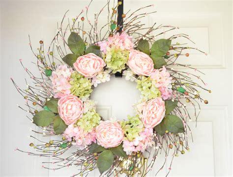 spring wreath ideas to make 15 joyful handmade spring wreath ideas to decorate your
