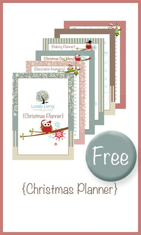 free holiday planner printable christmas planner there was a crooked house