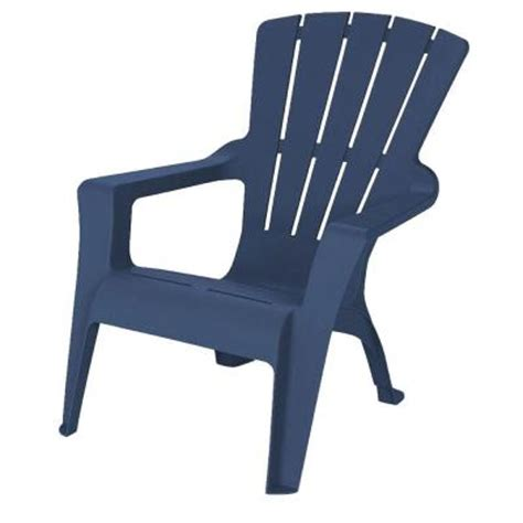 us leisure adirondack midnight patio chair