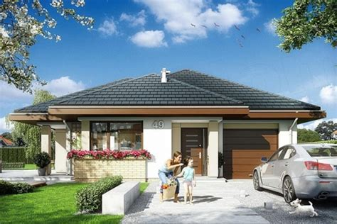 proiecte fara etaj proiect de casa fara etaj cu garaj