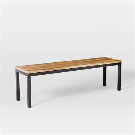 box benches box frame dining bench west elm au
