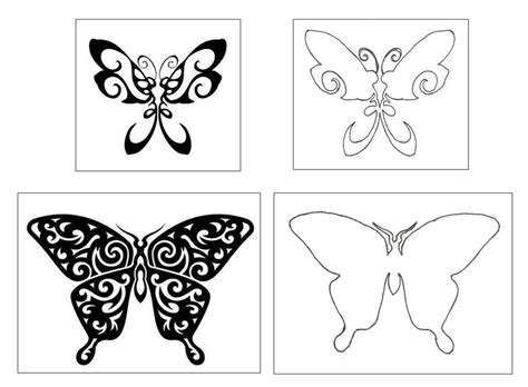 butterfly outline tattoo felines and fibre arts batik gems part 7