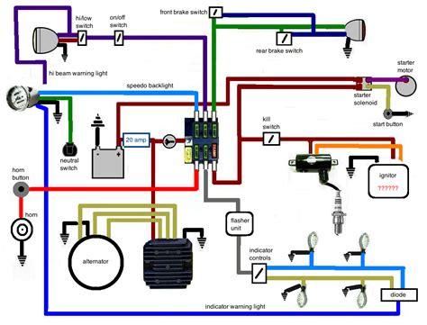 bobber wiring diagram wiring diagram manual