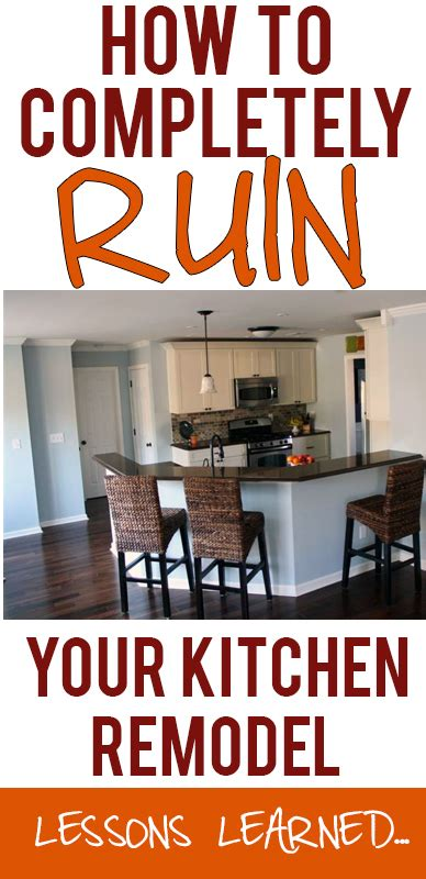 Do It Yourself Kitchen Backsplash Ideas by Lessons Learned From A Disappointing Kitchen Remodel