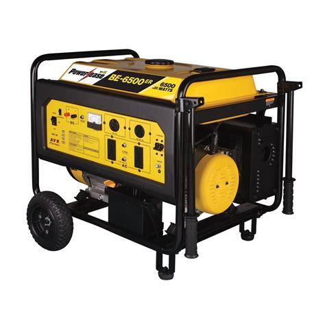 shop be pressure 5500 running watts portable generator at