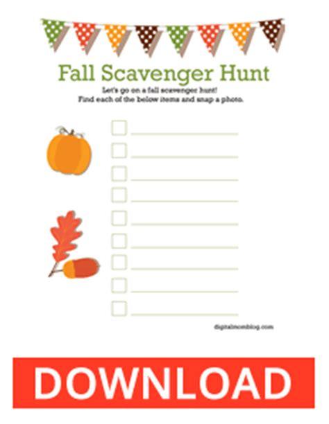 printable scavenger hunt template blank scavenger hunt cake ideas and designs