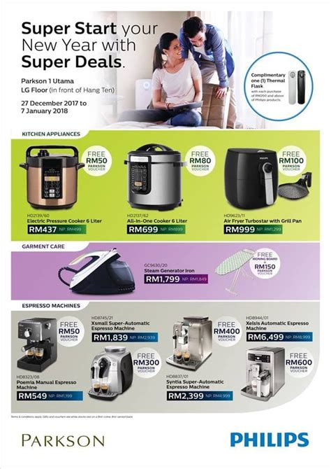 philips new year promotion 27 dec 2017 7 jan 2018 philips new year deals at