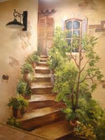 Artistic Wall Murals 25 Best Ideas About Painted Wall Murals On Pinterest