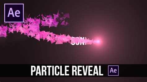 tutorial after effects path after effects tutorial particle reveal on path for text