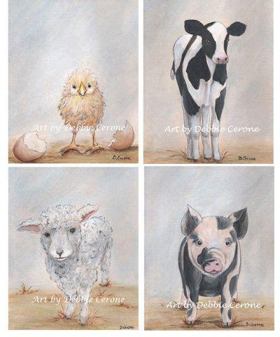 Farm Animal Nursery Decor 25 Best Ideas About Farm Animal Nursery On Farm Pig And Animal Paintings