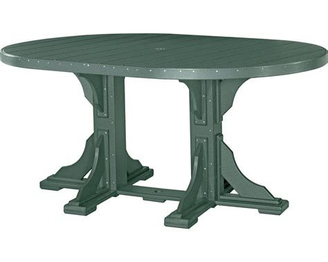 6 table top oval table 4ft x 6ft table top high density