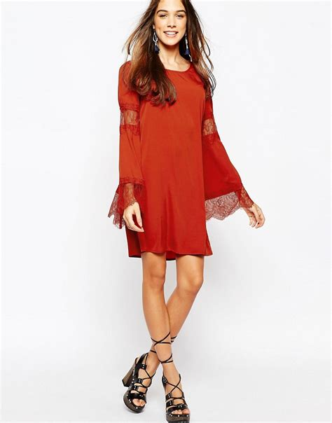 trapeze swing dress fallen star fallen star trapeze swing dress with fluted