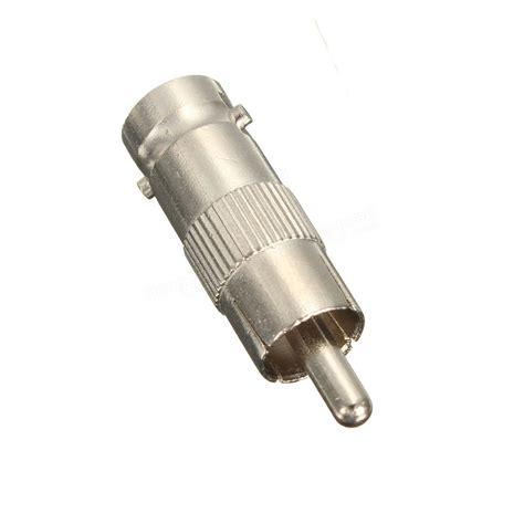 Bnc To Rca Adapter Sambungan Connector Coupler bnc to rca coax adapter connector coupler