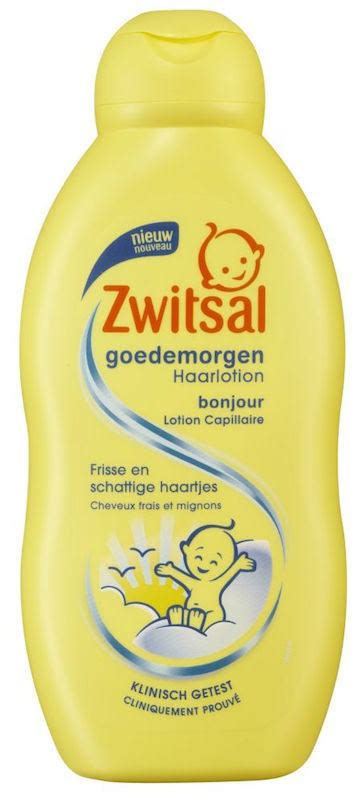 Zwitsal Hair Lotion 100ml 200ml zwitsal goedemorgen haarlotion baby 200ml vanaf 5 07
