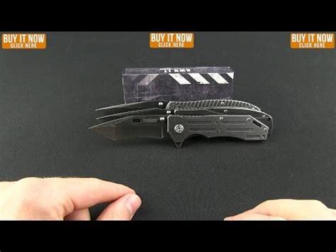 Kershaw Manifold Blackwash Assisted Opening Blade Pocket Knife 1303bw kershaw manifold assisted opening flipper knife 3 5
