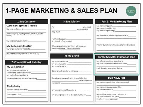 sales and marketing plans templates marketing sales boot c 8 sales and promotion
