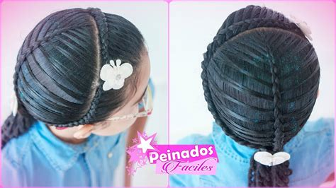 leaf braid easy hairstyling  jennifer henao youtube
