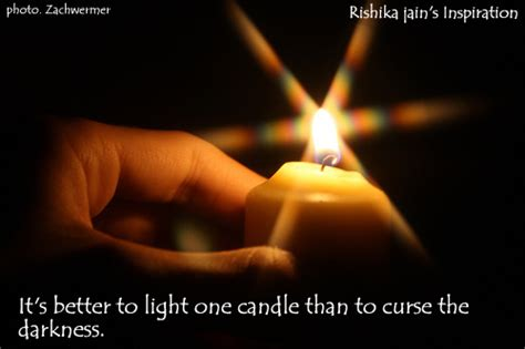 better than light positive thinking a motivational quote light a candle