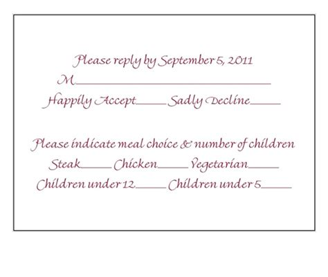 how to make rsvp cards is this an okay rsvp card or busy weddingbee