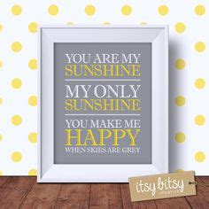 you are my sunshine subway art instant download by instant download nursery quote print 8x10 nursery decor