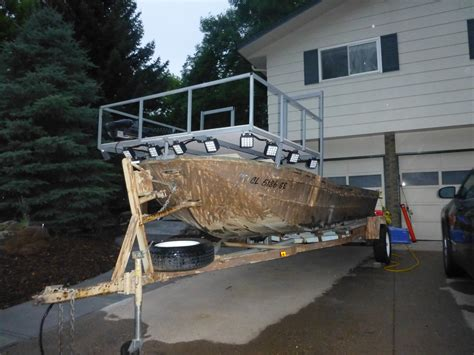 bowfishing boat build bowfishing boat build thin air outdoors