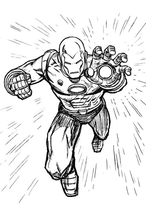 printable iron man pictures free big iron man coloring pages