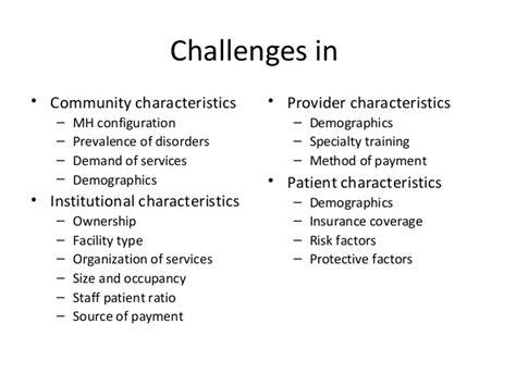 community nursing challenges challenges in mental health nursing